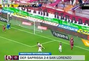 Amistoso Internacional: Deportivo Saprissa 2 - 4 San Lorenzo (10.07.2016)