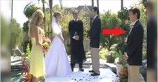 Regardez bien cet homme à droite : il va faire la pire chose possible au mariage de ses amis...