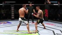 UFC 2 LIGHTWEIGHT ● MMA CHAMPIONS 2016 ● RAFAEL DOS ANJOS VS EDDIE ALVAREZ