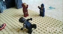 Lego Captain America Civil War: Final Battle #picpac #stopmotion #lego