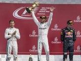 Classements du Grand Prix F1 de Grande-Bretagne 2016 - Infographie