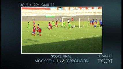 Résumé de la Ligue 1 ivoirienne de DDF du 10 juillet 2016.