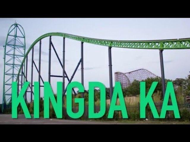 Kingda Ka Roller Coaster
