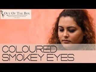 Colorful Smokey Eyes Tutorial!