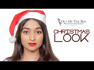 Christmas Inspired Makeup Tutorial | Holiday Party Looks
