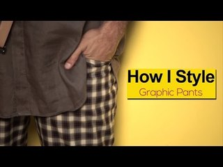 How I Style : Graphic Pants - 5 Ways | Fashion Lookbook