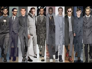 Fall Trend Alert : 50 Suits Of Grey | Winter 2015