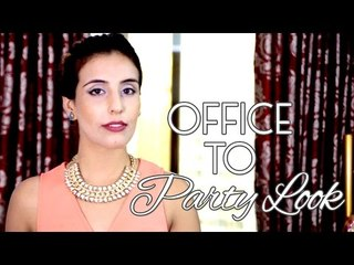 Office To Party Look