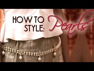 How To Style: Pearls | Trend Takeout