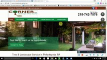 SEO for Tree Service Philadelphia How to beat Corner's Landscaping & Tree Service