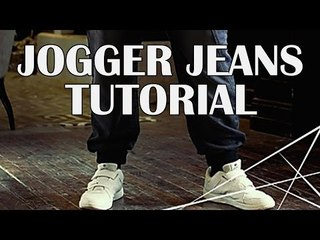 Get The Look | Jogger Jeans | The Snazzy Man Tutorial