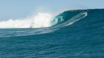 Surfing XXL Cloudbreak from 'Mad Monday'inFiji: Drone Footage   Sessions