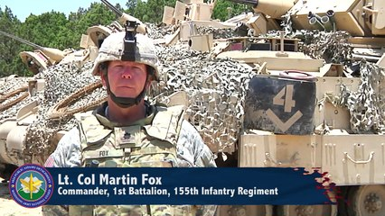 U.S Army Fire and Maneuver Exercise