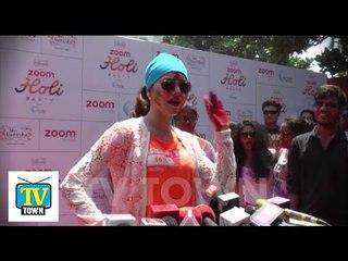 Zoom Holi Party 2016 at Dariya Mahal Part 2 - Urvashi Rautela's New Avatar