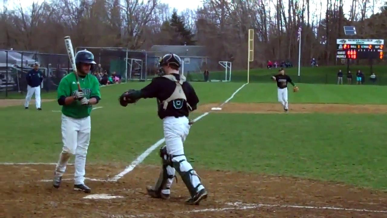Nichols College baseball vs Endicott 4-27-14