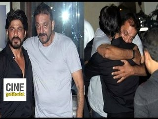 Sanjay Dutt meets Bollywood Celebrities post imprisonment | CinePakoda