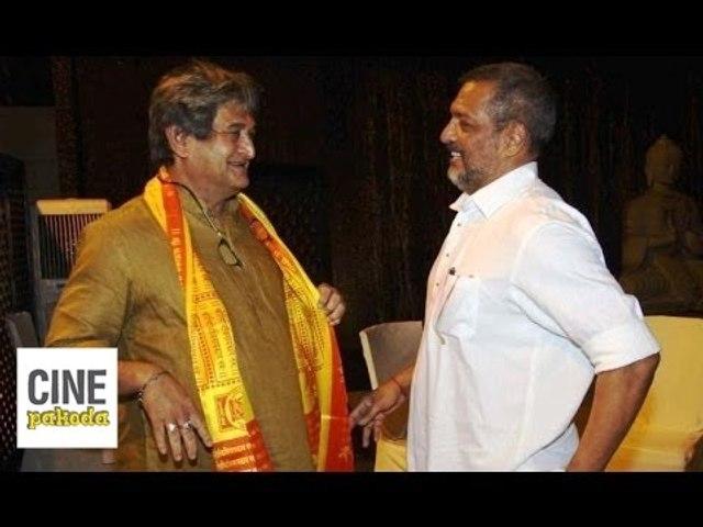 Natsamrat - Mahesh Manjrekar, Medha Manjrekar & Nana Patekar   Press Meet   CinePakoda