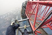 Shanghai Tower (650 meters)-Shanghai Tower climbers-Best climbers-Secret climbing of shanghai tower