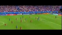 Cristiano Ronaldo manhandling the coach Fernando Santos vs France 10-7-2016