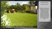 140 Bal Cross, Bal Harbour, FL 33154