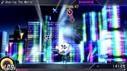 """Sharing the World"" and ""Hand in Hand"" de Hatsune Miku: Project Diva X"