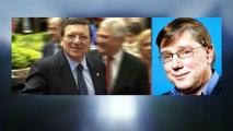"""Barroso: """"Il n'est pas normal qu'il passe au service d'une banque comme Goldman Sachs, responsable de la crise des subprimes"""""""