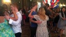 Nancy : Les étudiants étrangers dansent pour leur soirée de gala
