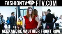 Paris Haute Couture Week Fall/Winter 2016-17 Alexandre Vauthier Front Row | FTV.com