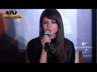 """Priynaka Chopra Launchs One More Song """"Black Dress"""" From IN MY CITY"""