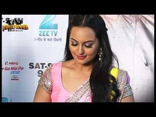 Salman Khan and Sonakshi Sinha promotes Dabangg 2 on the sets of Sa Re Ga Ma Pa