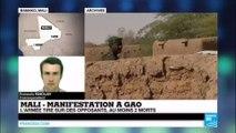 #URGENT - L'armée tire sur des opposants à Gao : Au moins 2 morts - MALI