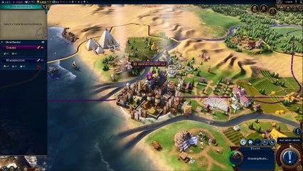 First Look Egypt  de Civilization VI