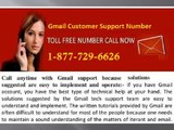 Configure your Gmail account Thru Gmail Customer Support Number @1-877-729-6626