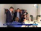 11 07 16 fr3 champagne ardenne 12/13 Arnaud Montebourg invité par Christophe Léonard dans les Ardennes