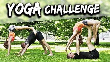 YOGA CHALLENGE - Wiktor i Doris