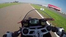 Les essais d'Arnaud Vincent, le tour embarqué Ducati Panigale 899