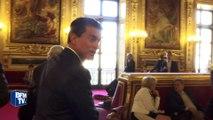 """Manuel Valls sur le meeting de Macron : """"Il est temps que tout cela s'arrête"""""""