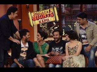 Humshakals Saif Ali Khan, Riteish Deshmukh, Esha Gupta On Comedy Nights With Kapil Full Episode HD
