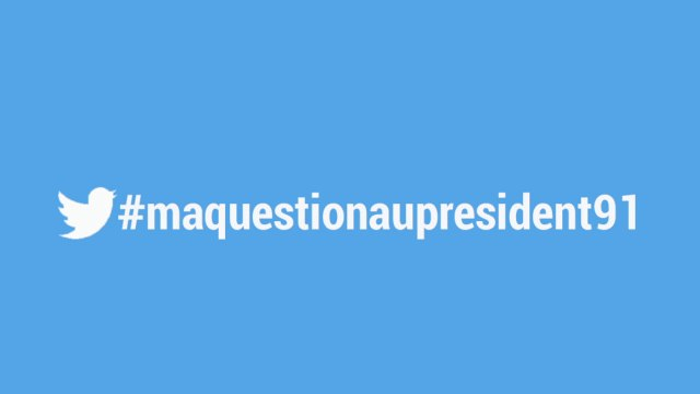 #maquestionaupresident  N° 1