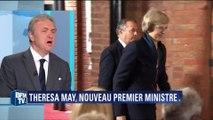 """Le parti conservateur anglais à Paris voit """"un point de ressemblance"""" entre Thatcher et May"""