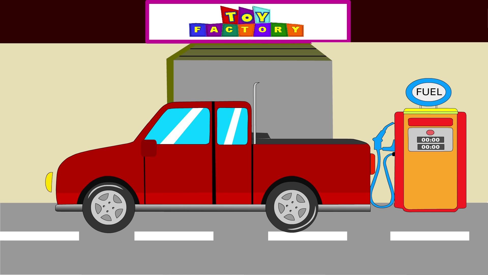 Pick up trucks – Trucks for kids – Monster Trucks for children