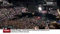 """""""La matinale info"""", iTélé : clapping au concert de Bruce Springsteen à Bercy"""