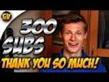 THANK YOU SO MUCH GUYS! | 300 Subs Vlog Part 0