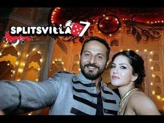 Hot Sunny Leone And Cool Nikhil Chinappa's Photos From MTV splitsvilla 7