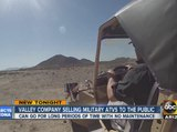 Citizens can buy military grade ATVs from north Phoenix business