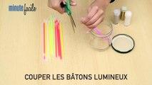 Déco Brico Jardinage : DIY : fabriquer une lampe bocal avec des bâtons lumineux