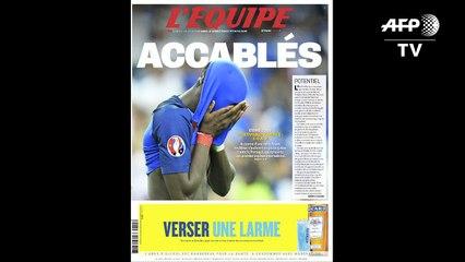 Finale de l'Euro-2016: la presse française accablée