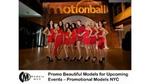Promo Beautiful Models for Upcoming Events – Promotional Models NYC