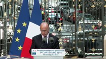 Remerciements aux personnels du ministère de l'Intérieur mobilisés pour l'Euro 2016
