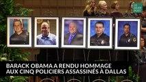 Le discours émouvant de Barack Obama à Dallas en hommage aux policiers tués